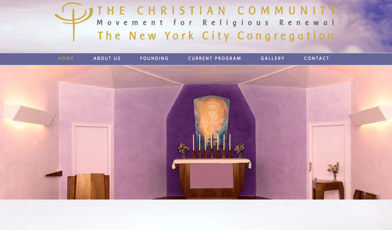 The Christian Community of New York City - USA