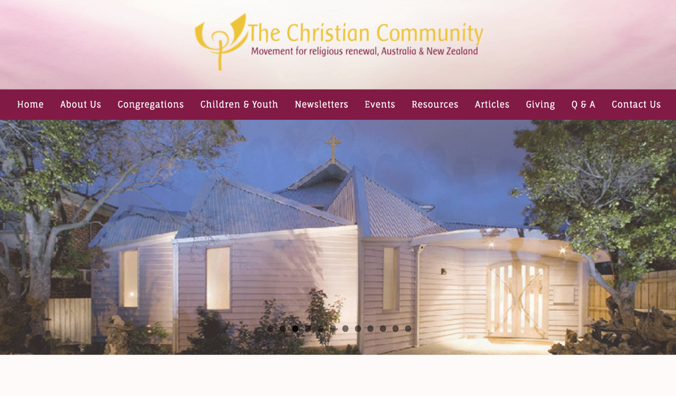 The Christian Community in Australia and New Zealand